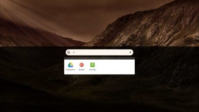 chrome OS UI