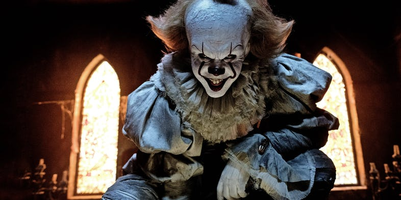 آی تی - It - Movie - Clown - Pennywise - پنی وایز