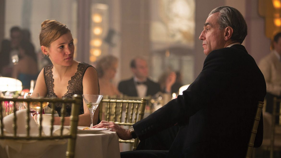 نخ خیال, دنیل دی لوئیس, لزلی منویل, Phantom Thread, Daniel Day‑Lewis, Lesley Manville, اسکار