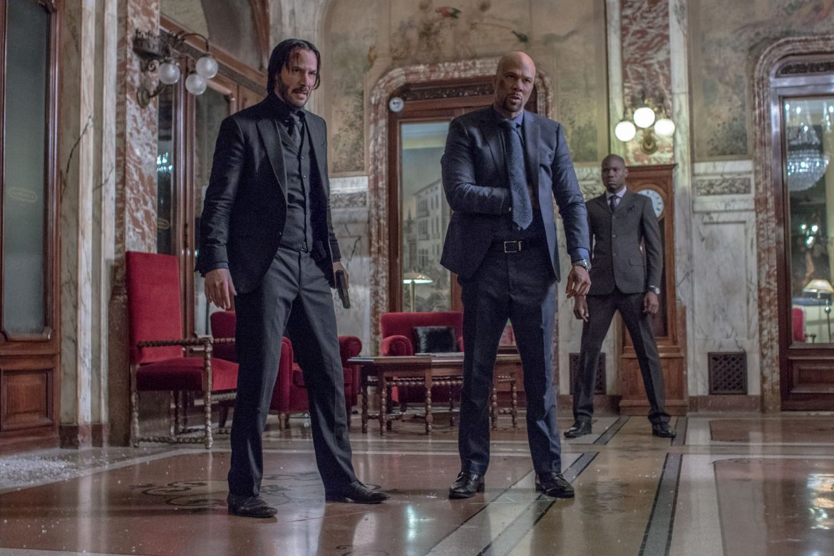 جان ویک, روبی روز, John Wick, Common, کامن