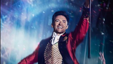 , Hugh Jackman, Michelle Williams, Zac Efronهیو جکمن, برترین شومنThe Greatest Showman,