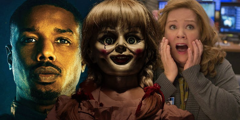Conjuring, Just Mercy, Superintelligence, The Nun, Melissa McCarthy, Michael B. Jordan, احضار
