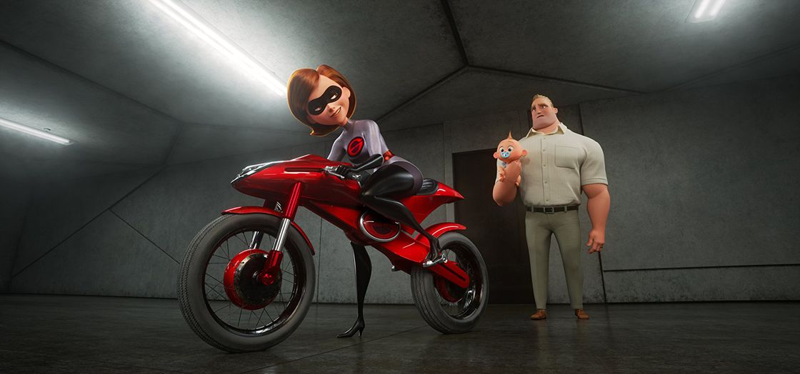 Incredibles 2, Brad Bird, Holly Hunter, Samuel L. Jackson, Frozone, Craig T. Nelson, Mr. Incredible, Sarah Vowell, Huck Milner, شگفت‌انگیزان 2